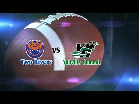 Two Rivers at Yellville Summit High School Football September 4 2020