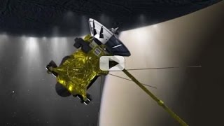 Sniffing Enceladus' Spray - Spacecraft To Fly 30 Miles From Saturn Moon | Video