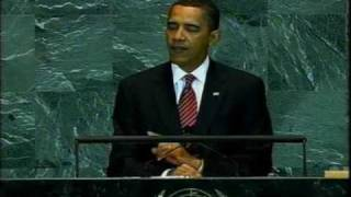 President Obama speaks at United Nations  General  Assembly Part2 2/4