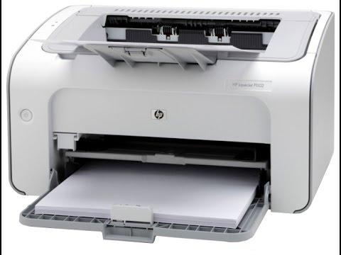 Распаковка и обзор принтера HP LaserJet P1102