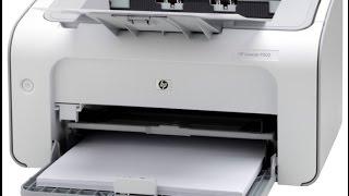 распаковка и обзор принтера HP laser jet ultra M106W