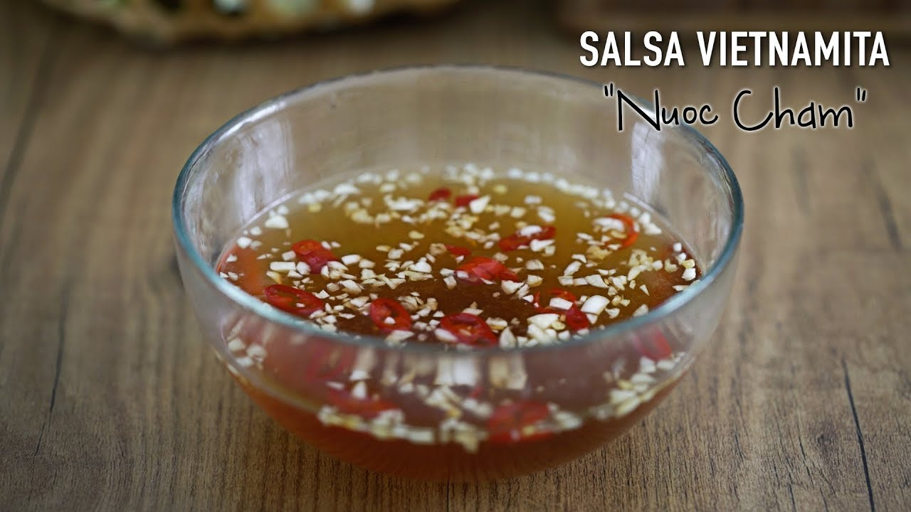 Auténtica salsa para rollitos vietnamitas