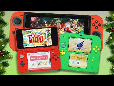 The ULTIMATE Nintendo Holiday Buying Guide | Switch vs. New 2DS XL vs 2DS!