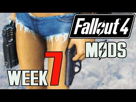 FALLOUT 4 MODS - WEEK #7: Dual Wield, Build A Bear, Long Hair, Infinite Companion Ammo & More!