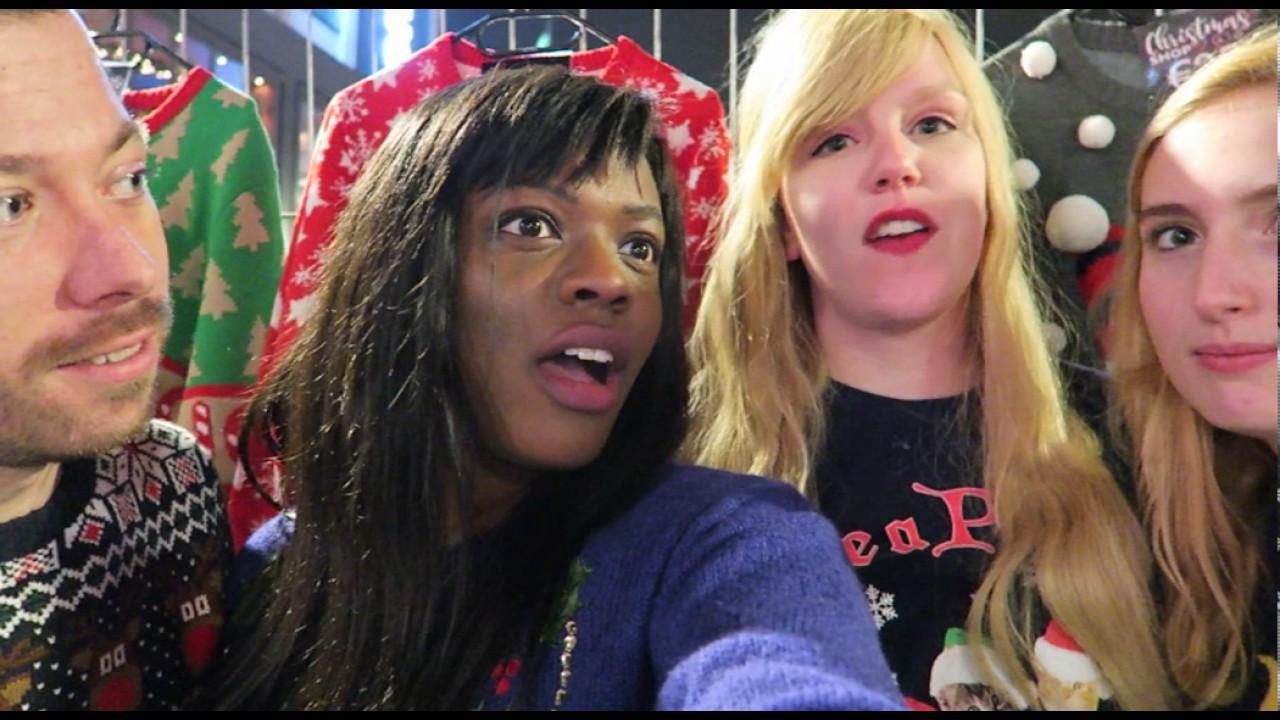 Foute Kersttrui Rotterdam.Zeny Doet Mee Aan Recordpoging Foute Kersttruien Open Vlogger