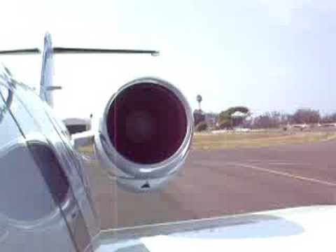 Learjet 31a Engine Start