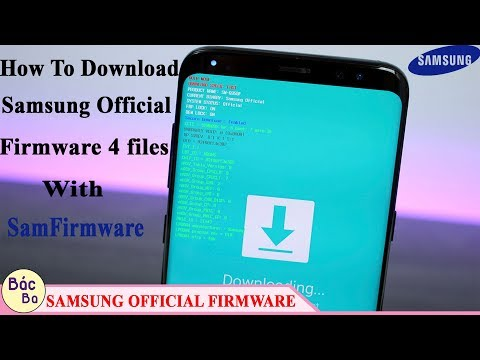 How To Download Samsung Official Firmware 4 Files With SamFirmware