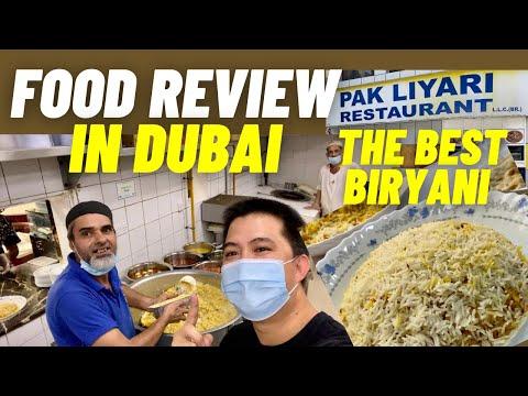 Food Review in Dubai   The Best Biryani in Dubai   Pak Liyari Restaurant   Danry Santos