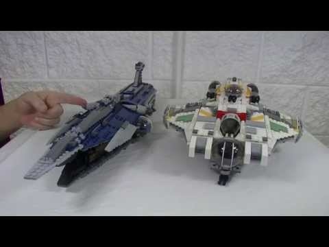Lego Ghost 75053 & Phantom 75048 Review and Comparison