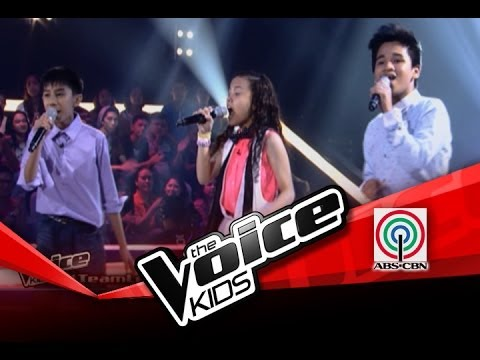 """The Voice Kids Philippines Battles""""Hey, Soul Sister"""" by Kobe, Lorenzo, and Shanne"""