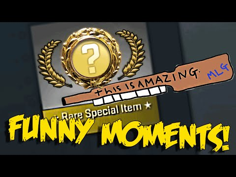 CS:GO FUNNY MOMENTS - THE BEST GAMMA CASE UNBOXING NEVER, EPIC WINS & RAGE