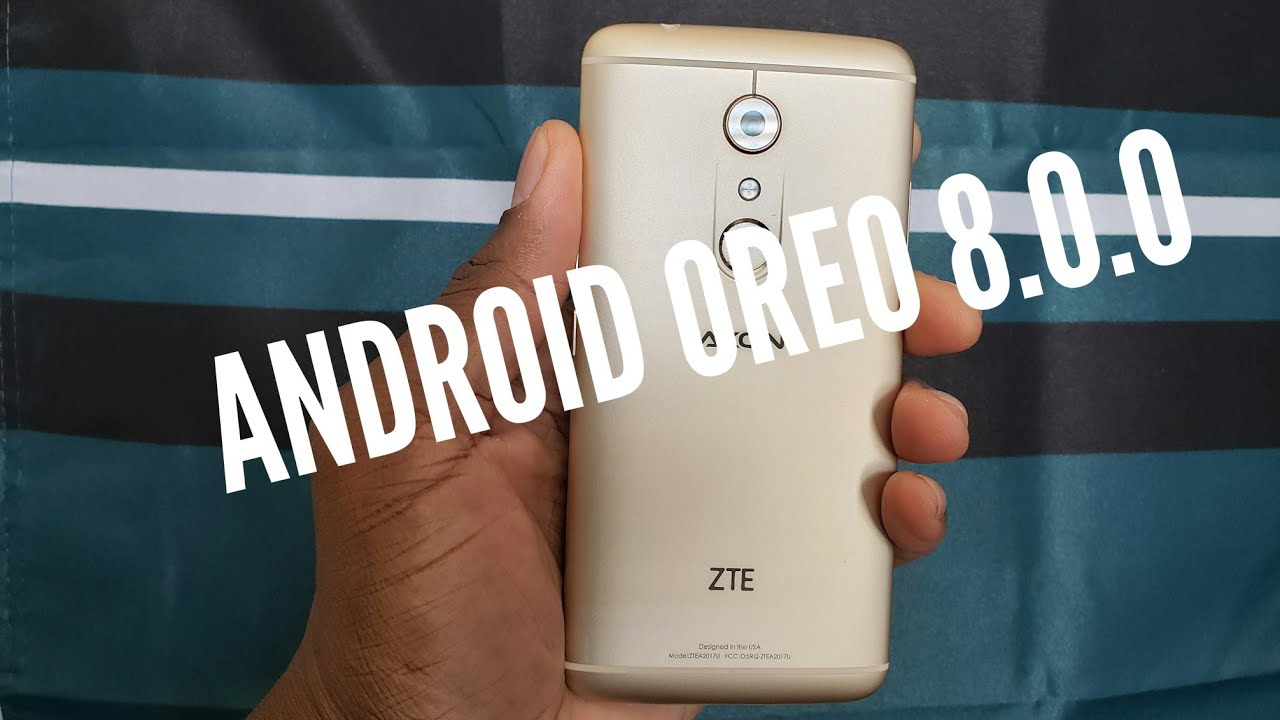 Download] ZTE Axon 7 gets Android 8 0 Oreo Software Update with