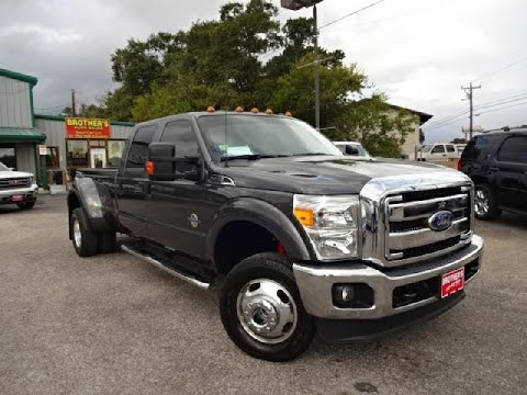 2015 ford f350 super duty dually xlt powerstroke review - youtube