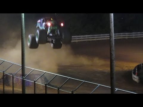Hagerstown, MD Monster Jam 2018 - Grave Digger Freestyle Saturday