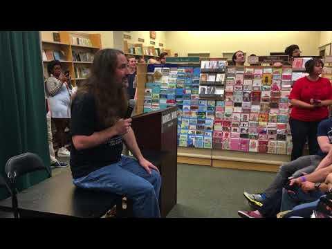 Jim Butcher - BRIEF CASES tour Q&A (Tyson's Corner, VA)