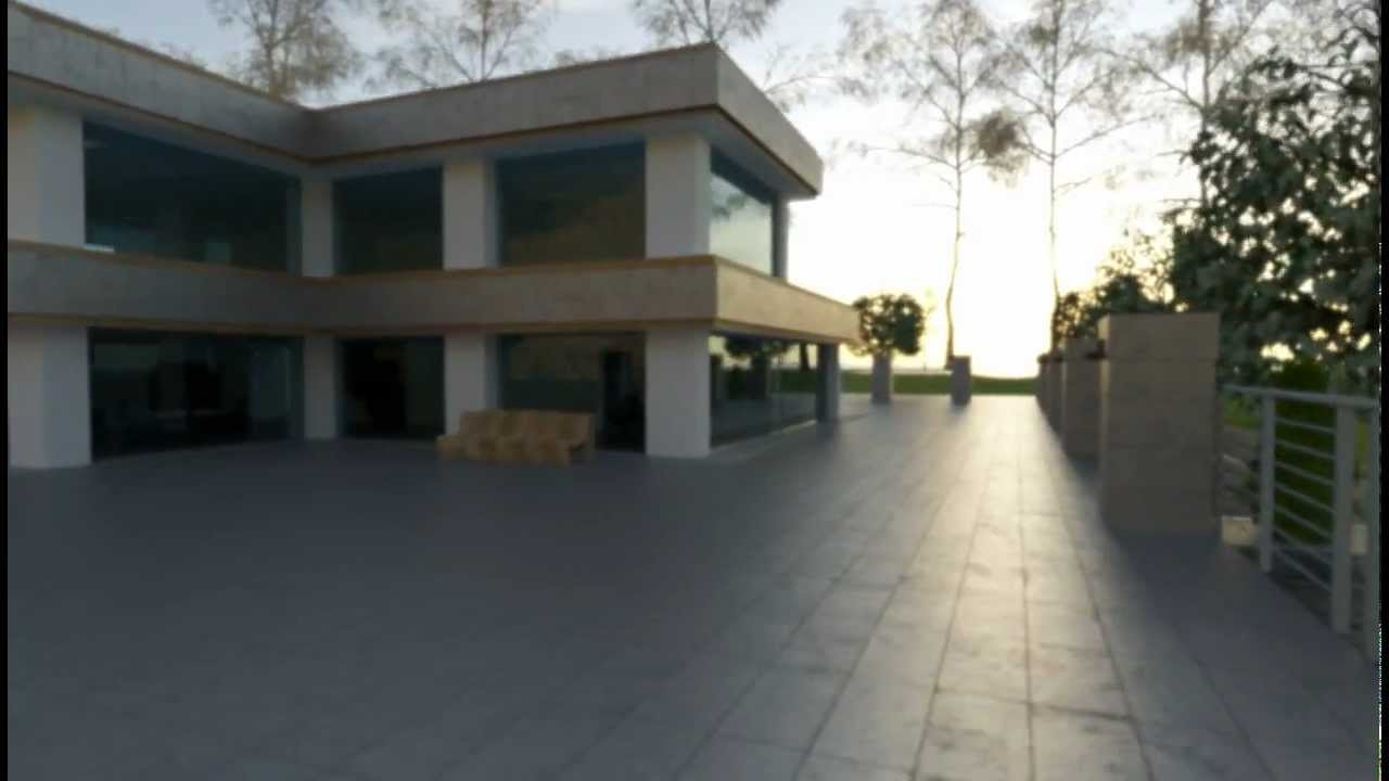 3d architectural visualization house design blender for Architecture 3d