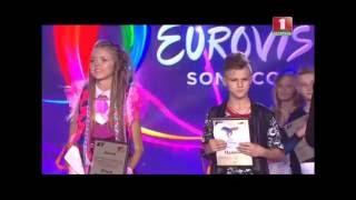 Junior Evrovision Belarus 2016 winner / Александр Миненок Детское евровидение 2016
