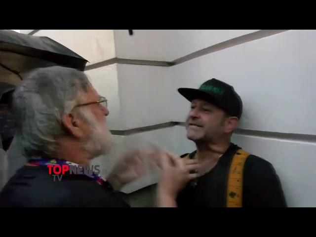 14.08.2020 Ekskluzivni posnetek incidenta na protivladnih protestih