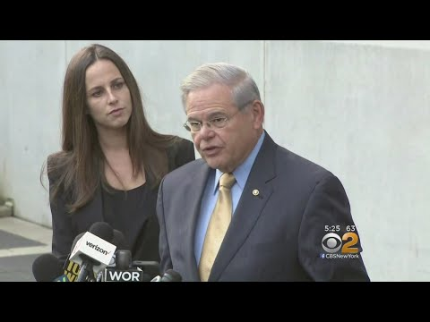 NJ Sen. Bob Menendez Corruption Trial Begins