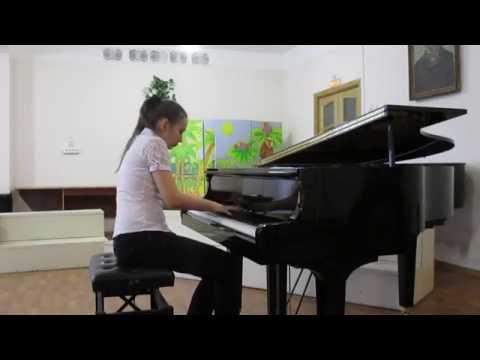 Э. Григ Поэтическая картинка №3 Op.3 (c-moll) исполняет  Бакаляр Мария
