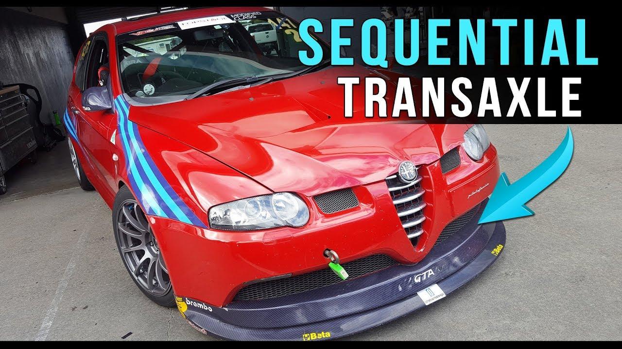 Awesome Alfa Romeo 147 Gta V6 Youtube Transaxle