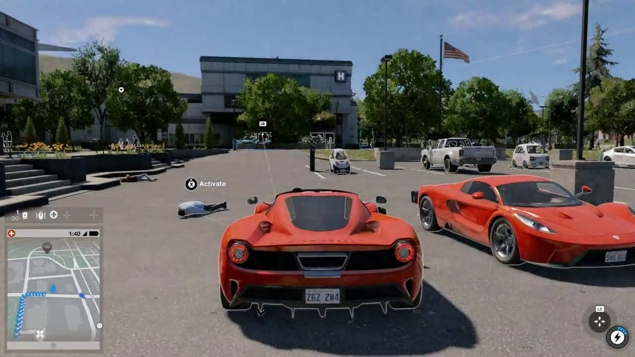 WATCHDOGS 2 FINDING A FERRARI RARE & EXCLUSIVE CAR !!! FASTEST CAR