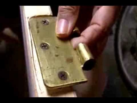 Delicieux How To Fix A Loose Door Hinge In 10 Minutes
