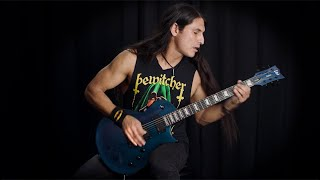 ESP Guitars: LTD Deluxe EC-1000 Violet Andromeda Demo by Eli Santana