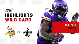Dalvin Cook Scores Twice vs. Saints