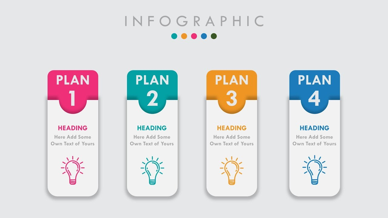 animated powerpoint infographic slide design tutorial