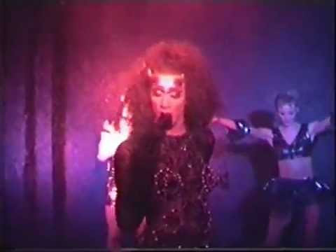 "Alexis live på gay club ""After Dark"" med Love Trip 1994"