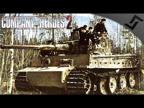 1943, FINALLY TIGERS! - Company of Heroes 2 - Theatre of War: Southern Fronts COOP 1