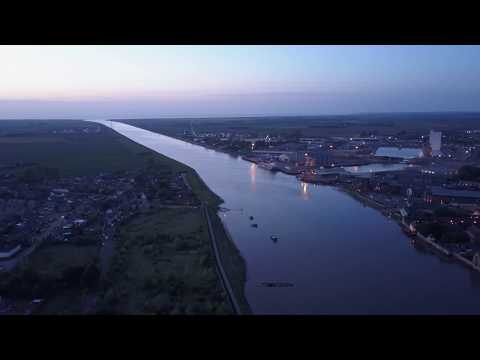 Norfolk Kings Lynn Great Ouse - West Lynn (2017) DJI MAVIC 4K 30 FPS