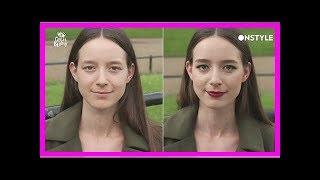 영국 여성 순식간에 '엘프'로  변신시킨 이사배의 메이크업 (영상)