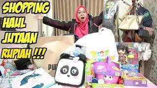 Shopping Haul 2018   Sampai Jutaan Rupiah!!!!