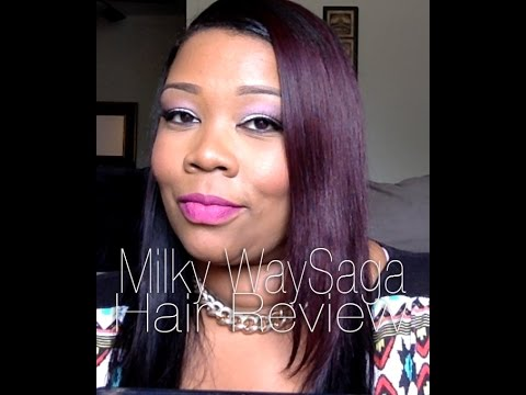 Hair Review Milky Way Saga Gold 99j And 1b