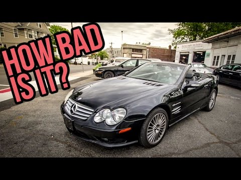 Here's Everything Wrong With My $8,900 Mercedes-Benz SL55 AMG