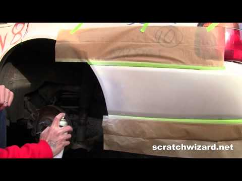 How Apply Pearl White Spray Paint.