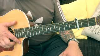 Liam Gallagher-One Of Us-Acoustic Guitar Lesson.