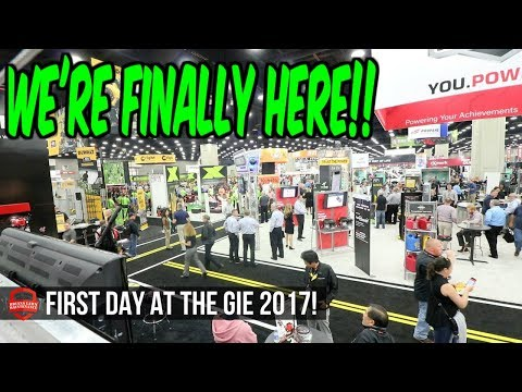 Live at GIE 2017!! Inside The Show! Exmark, ECHO, Gravely Meet and Greets