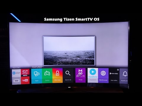 Samsung Tizen SmartTV OS Hands-on