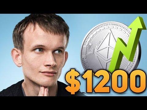 Стоимость Ethereum Достигнет 1200$ Вначале 2020 Года Причины Взрывного Роста Прогноз