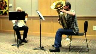 """The City Awakes"" from ""Double Portraits for Trombone and Tuba"", by David Uber"