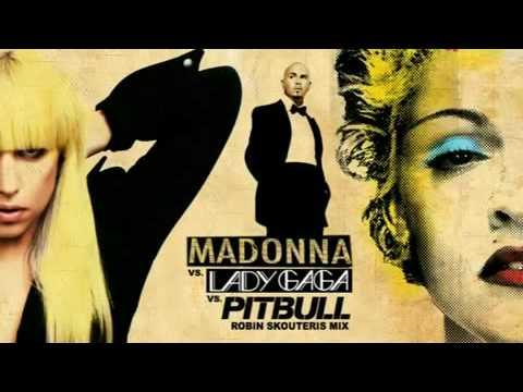 Lady GaGa feat. Pitbull & Madonna - You Know I Want Love Celebration