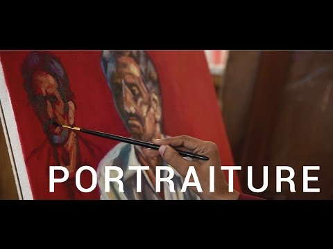 Portraiture | India's Finest Portrait Artist Talk | POWWOW | Oil on canvas | Low relief | Mix media