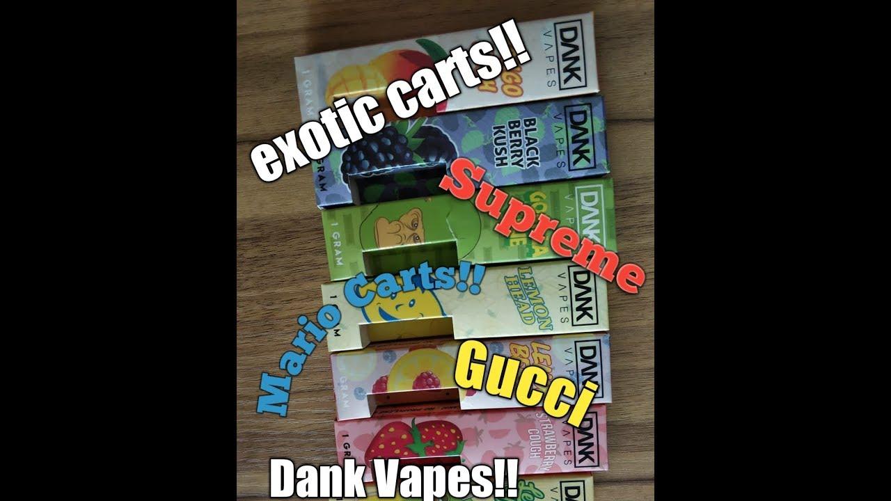 Dank Vapes!! Exotic Carts!! Supreme Carts!! Cereal Carts!!