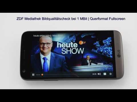 O2 Free Test bei 1 MBit | ZDF Mediathek