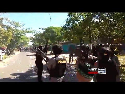 Demo Pilkada Sampang Ricuh - NET. JATIM