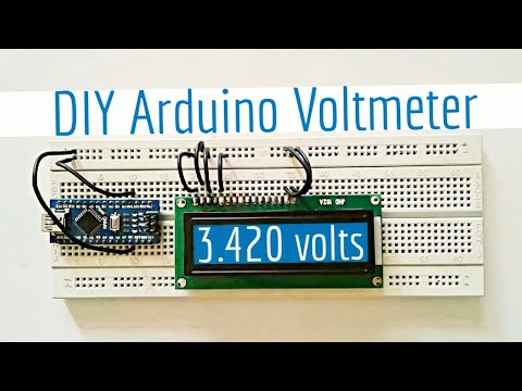 how to read a voltmeter