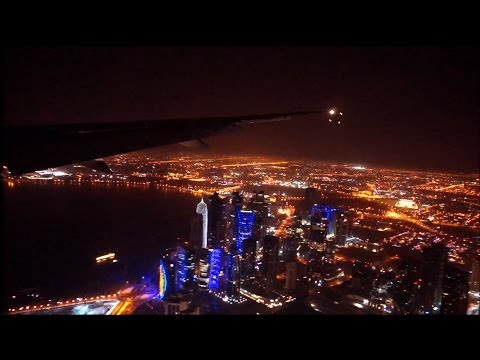 Doha -  landing, Quatar